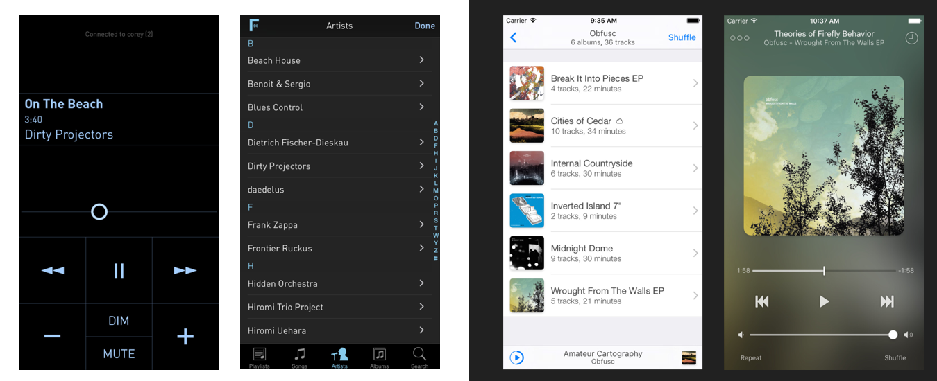 A new iOS music player designed for music lovers