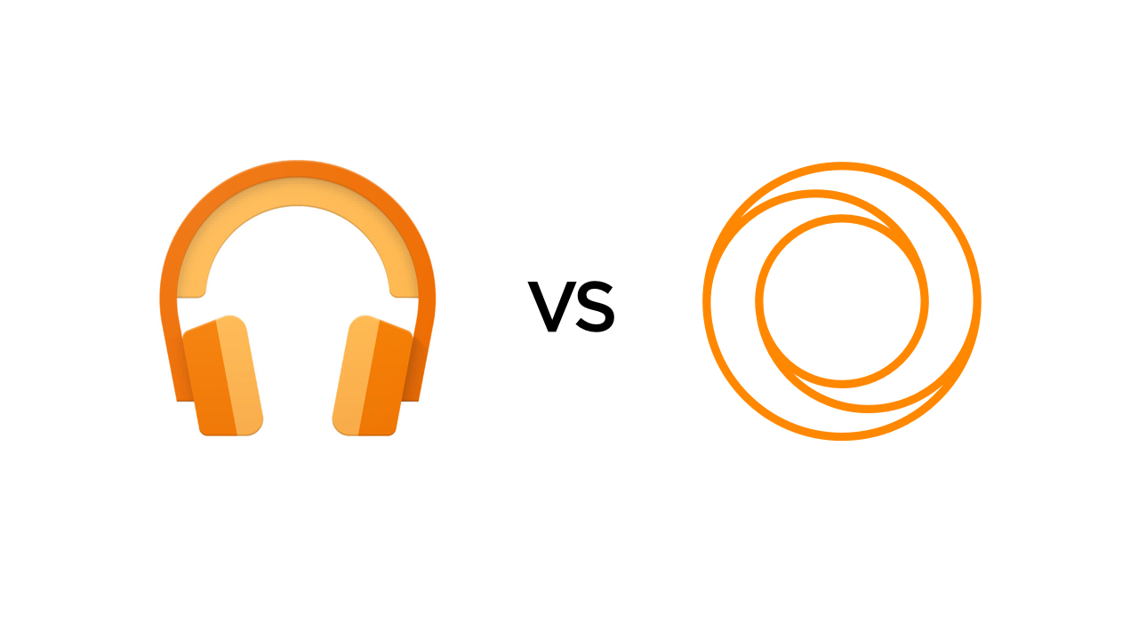 Google Play music vs VOX Music Cloud. Difference