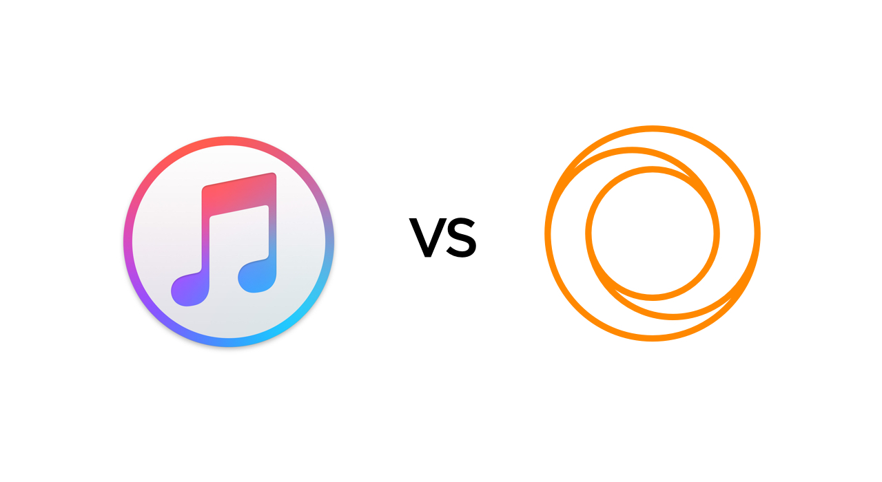 iTunes vs VOX Cloud. Difference