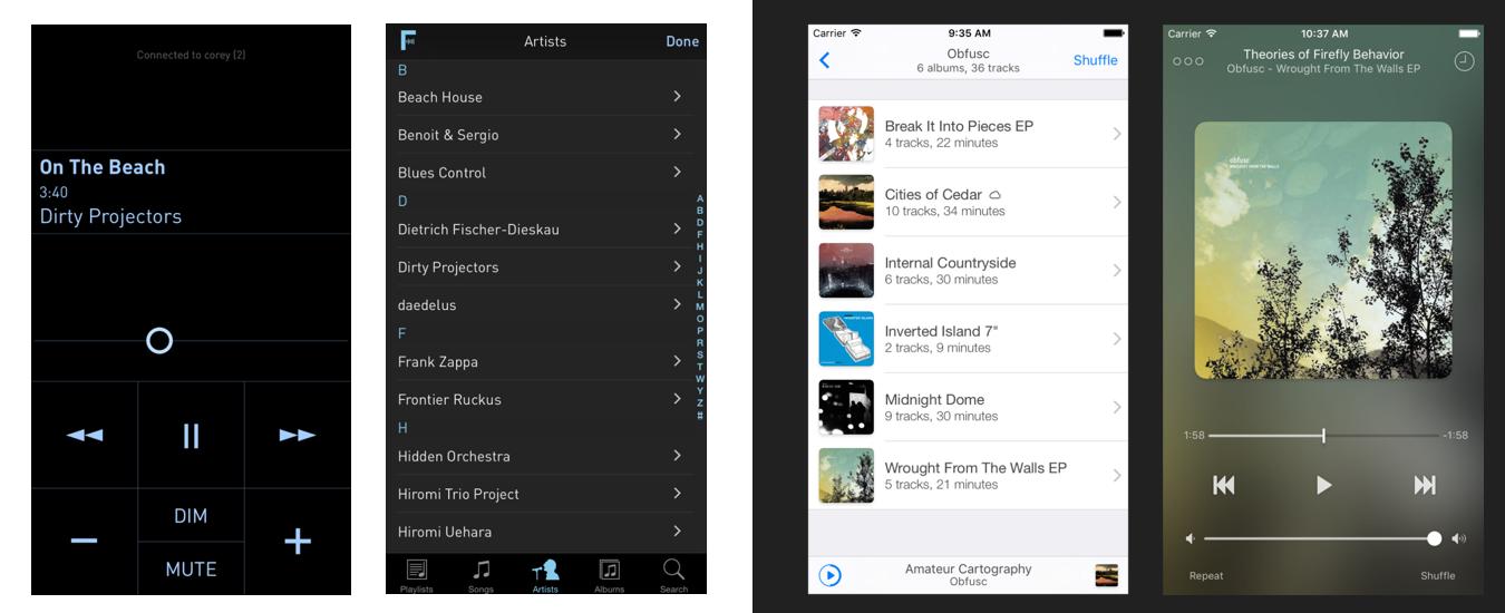 Fidelia - iOS music player