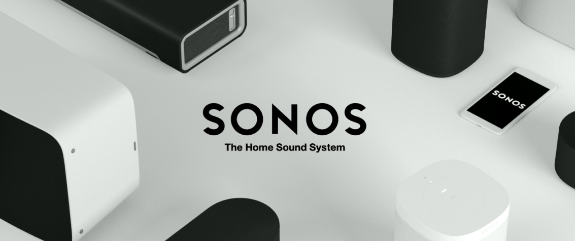 Sonos Logo with background